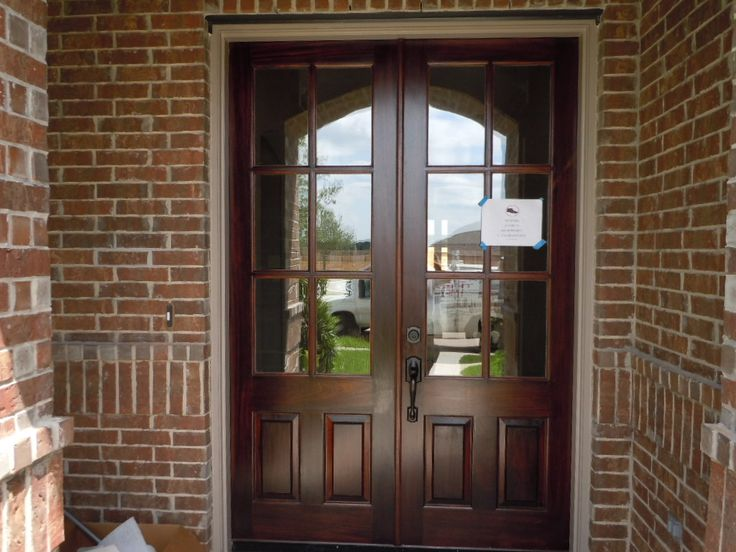 Double front door entry dream home pinterest for Double front doors for homes