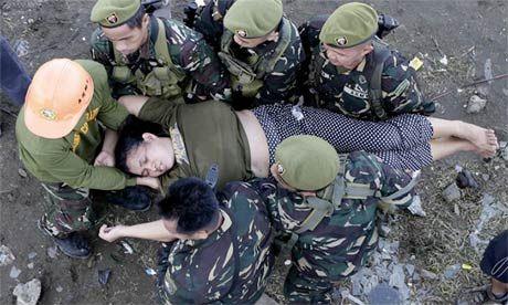 Safe Female soldiers dead bodies