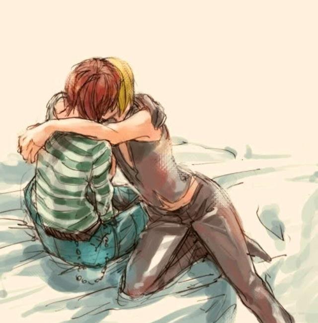 Mello and Matt kiss | Death note | Pinterest