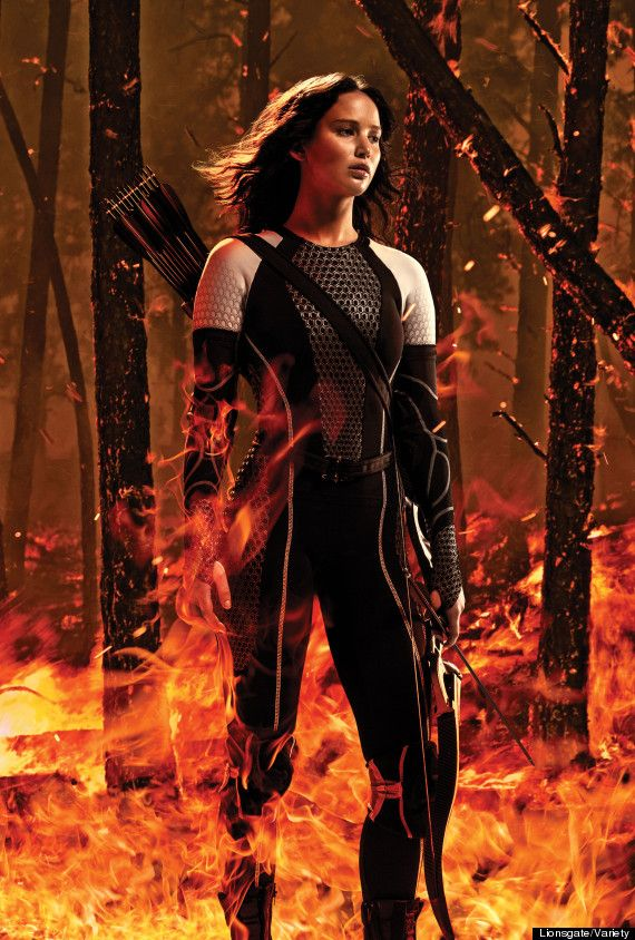 6 Awesome 'Catching Fire' Photos To Make Your Day