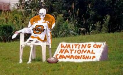 An Okie State fan sent me this picture - 1 ...