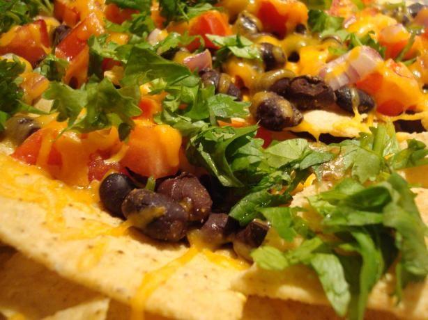 Black Bean Nachos With Chipotle Tabasco | Recipe