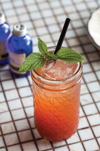 made with soda water, strawberries, lemon, balsamic vinegar & basil ...