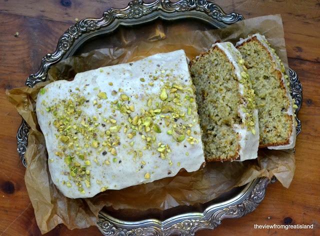 Pistachio Cardamom Pound Cake | Cardamom | Pinterest