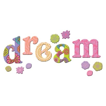 Lot 26 Indie Spirit Dream Wall Decals | Design Ideas For Kid's Rooms ...