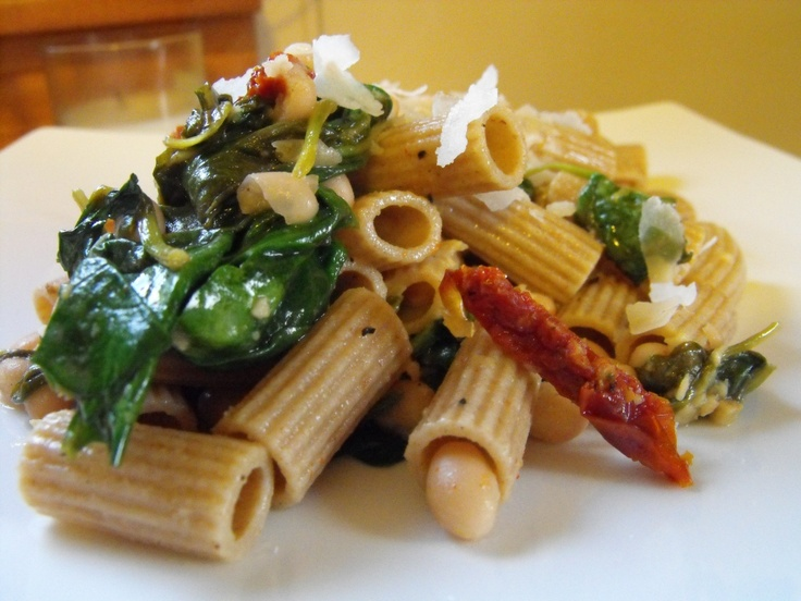 Tuscan White Beans With Spinach, Shrimp And Feta Recipe ...