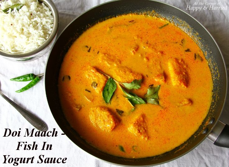 Bengali-Style Fish In Yogurt Curry Recipes — Dishmaps