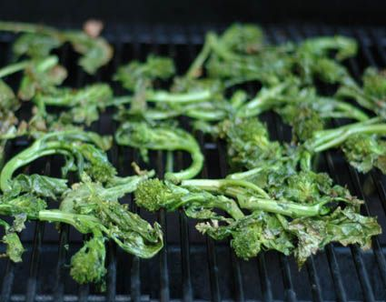 Grilled Broccoli Rabe? ooooohhhhh | Broccoli Raab / Rapini | Pinterest