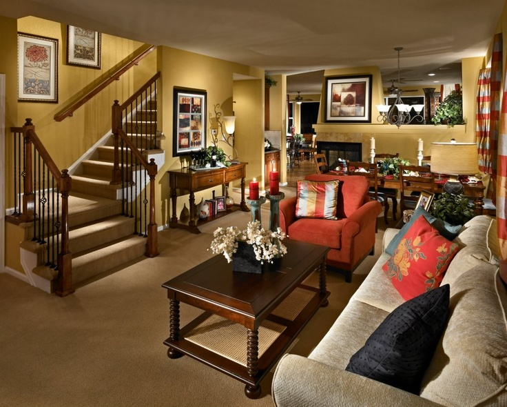 A living room by taylor morrison denver for The family room denver