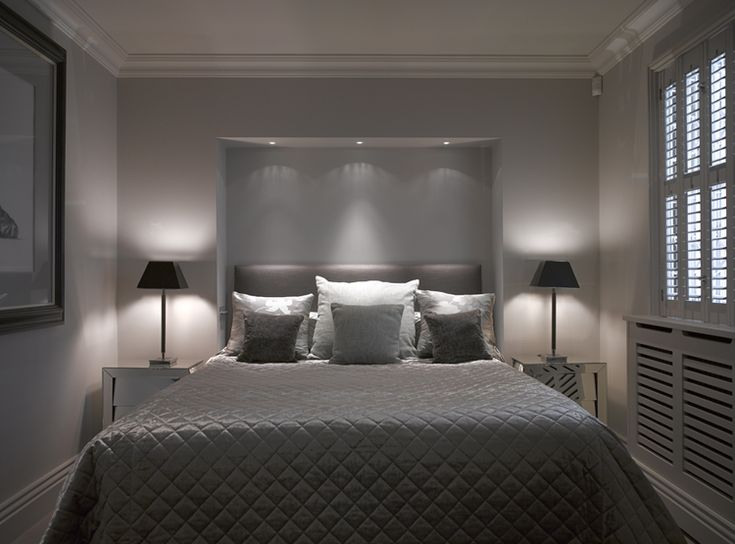 Lighting design by john cullen lighting bedroom lighting Bedroom design lighting