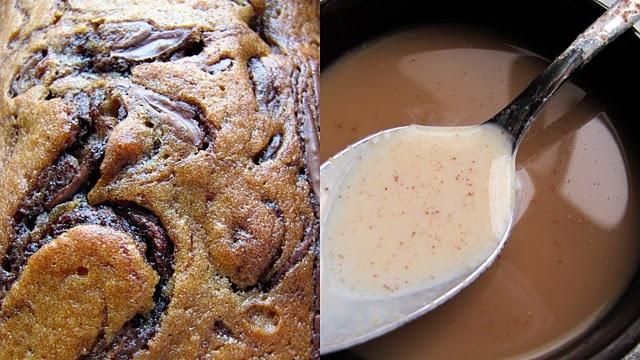 pumpkin nutella bread & pumpkin spice creamer