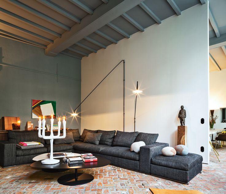 Flexform sofa from @dwellmedia