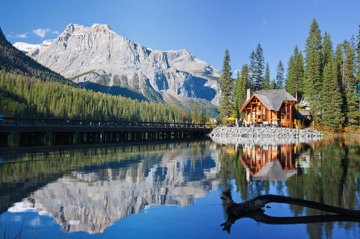 Emerald Lake Alberta Canadian Rockies Canadian Rockies