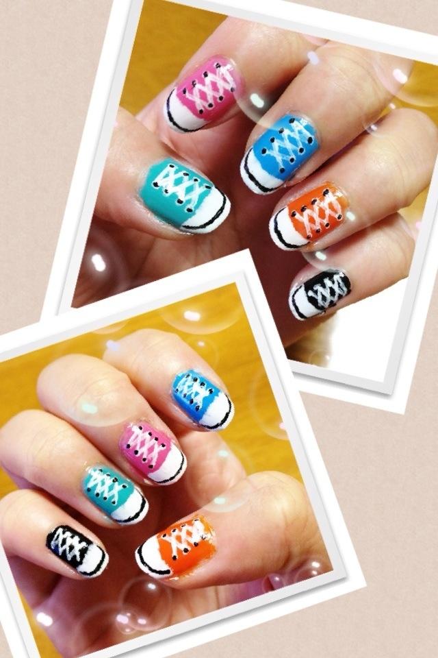 Cool nail polish nails pinterest