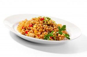 Brown Coconut Rice with Cilantro - Recipes.MyNaturalMarket.com