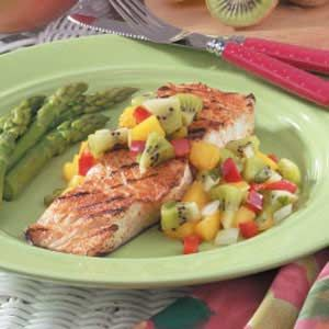 Halibut with Kiwi Salsa | Recipe