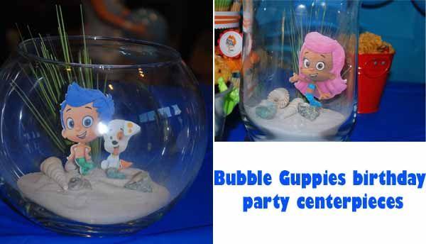 Bubble guppies birthday bubble guppies birthday party pinterest - Bubble guppies center pieces ...