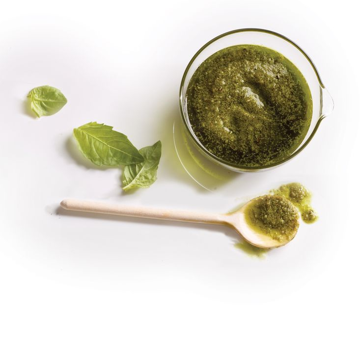 Classic Basil Pesto MY NOTES: Pecorino Romano is the ONLY choice for ...
