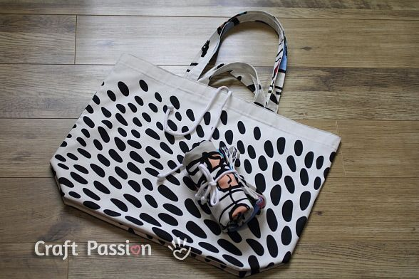 Reversible Jumbo Tote Bag Tutorial