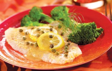 Flounder Piccata - get recipe at Schnuckscooks.com