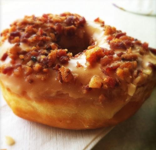 Maple Bacon Doughnut | Ummm...Yummy! | Pinterest