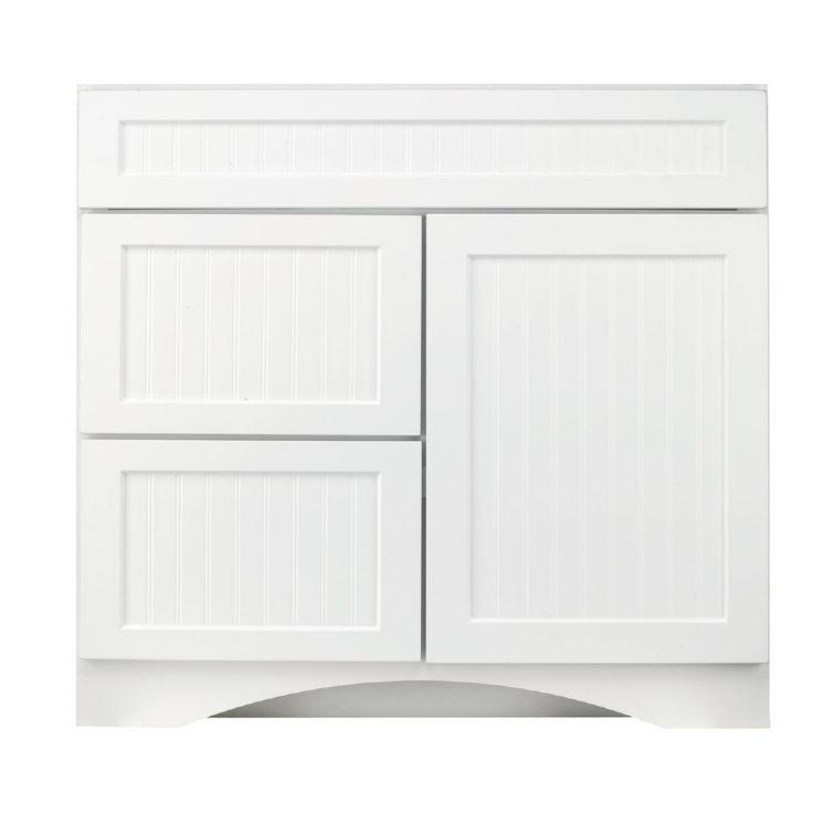 Lowes Bathroom White Vanity