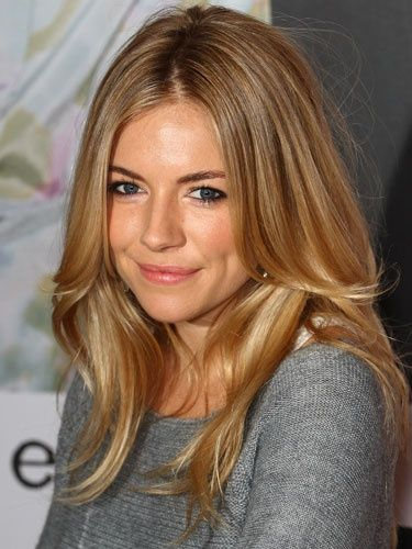 Sienna Miller long hairstyle