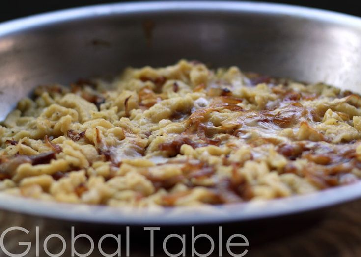 KasNocken (Austrian Spaetzle with cheese and caramelized onion) | Rec ...