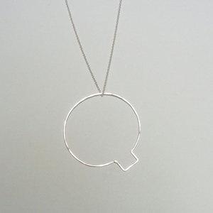 Q Bubble Letter Bubble Letter Q Necklace now featured on Fab.