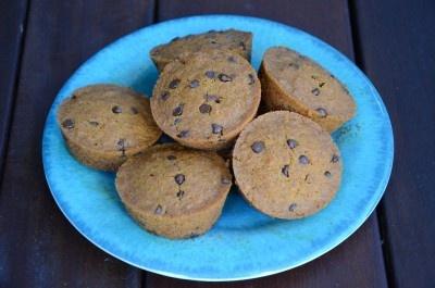 GF, Vegan - Carrot Choc Chip Muffins | Cooking | Pinterest