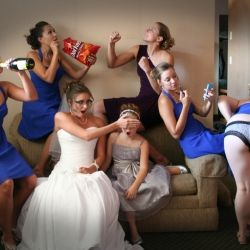 A few fun creative poses for your wedding day