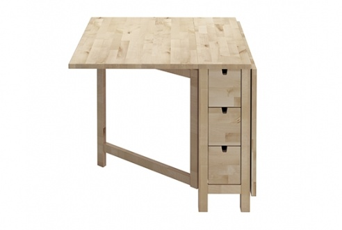 Norden gateleg table at ikea home pinterest for Table 52 schaumburg
