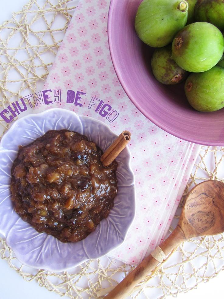 Fig chutney | { ananás e hortelã } | Pinterest