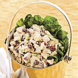 CRANBERRY CHICKEN SALAD 4 cups cooked chicken, cubed 1 cup mayonnaise ...
