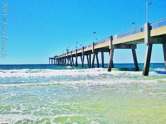 Pin by t j feazel on favorite place to go in destin for Destin fishing pier