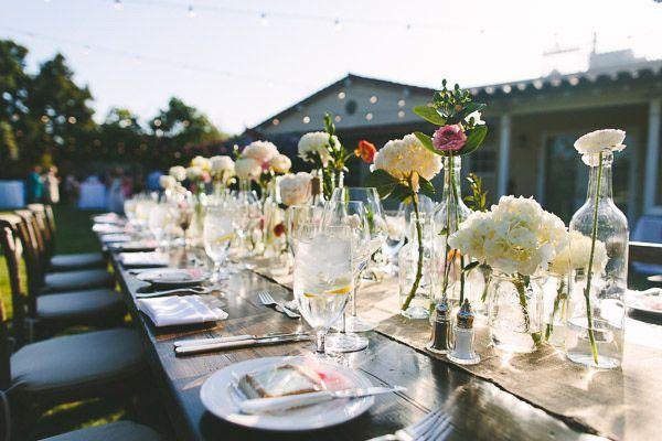 outdoor garden receptions