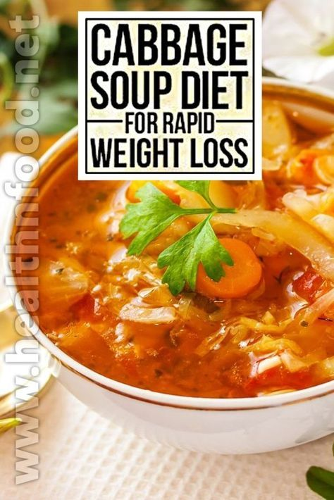Lentil Soup with Cabbage Weight Loss Recipes