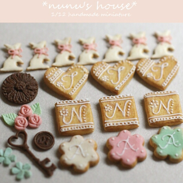 More Mini Cookies | Miniature Things | Pinterest