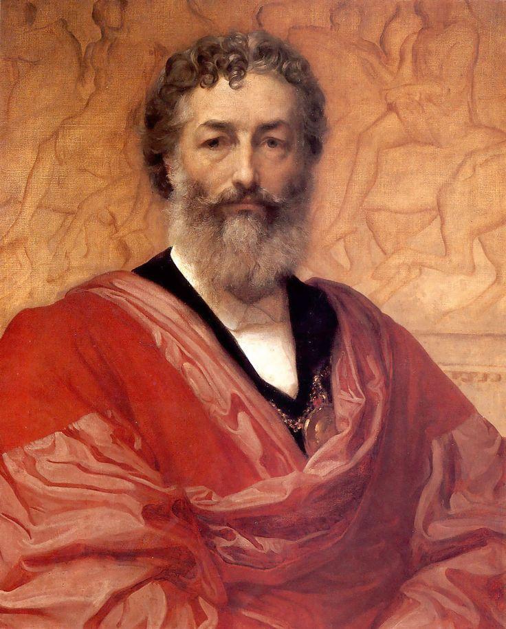 Autorretrato de Lord Frederick Leighton