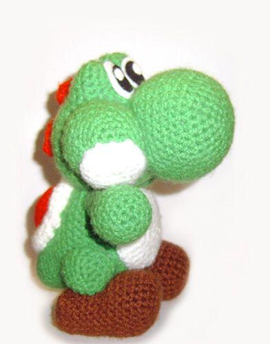 Crochet Yoshi : Its an Amigurumi Yoshi!! want! Crochet Pinterest