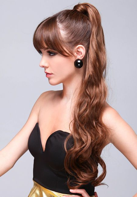 Ponytail Hair Extension Canada 119