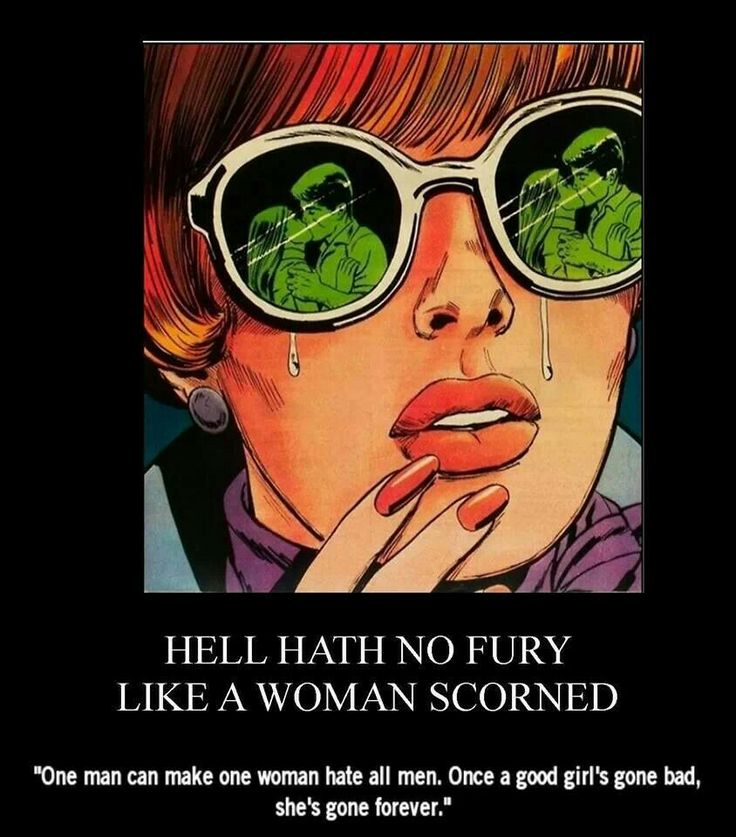 hell hath no fury like medea Hell hath no fury like a woman scorned, especially when that woman is medea this is a colorful 11x17 poster print of my original painting, medea.