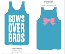 Bows over bros....ohhhhhhh this reminds me of so many of my lovely sisters :)