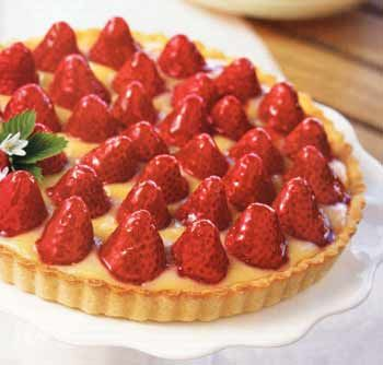 Strawberry Lemon Curd Tart. If you love citrus foods, you have to try ...