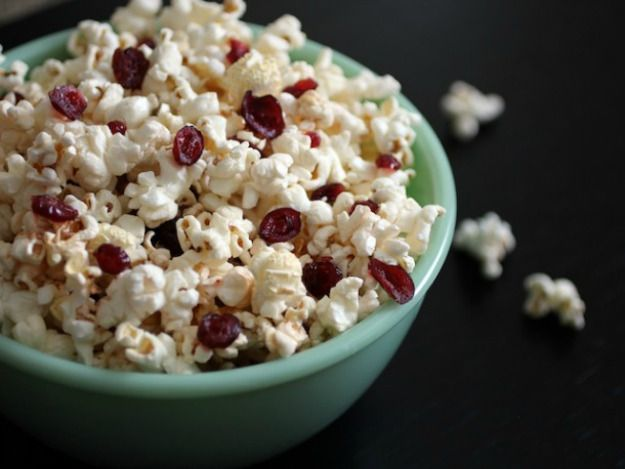Buttered Rum and Cranberry Popcorn | Recipe ideas | Pinterest