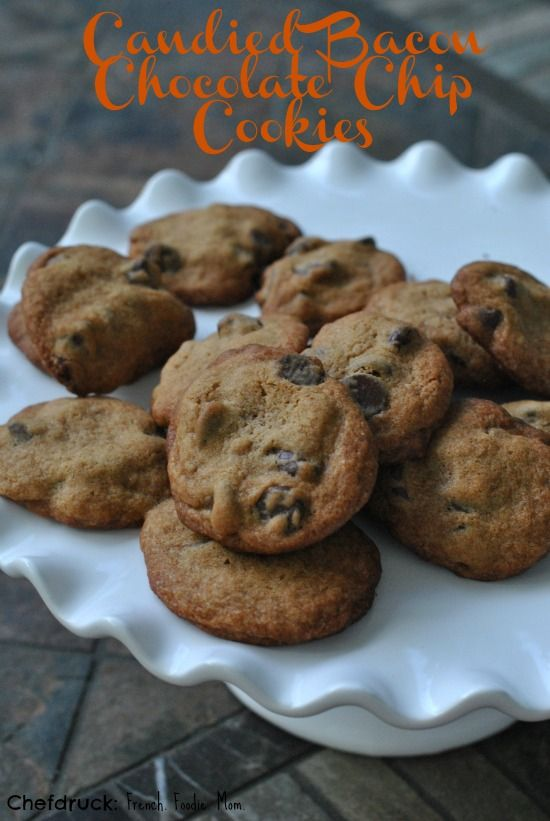 Candied Bacon Chocolate Chip Cookies: a Marriage Made in Heaven | Rec ...