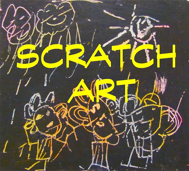 how to make your own scratchboard art