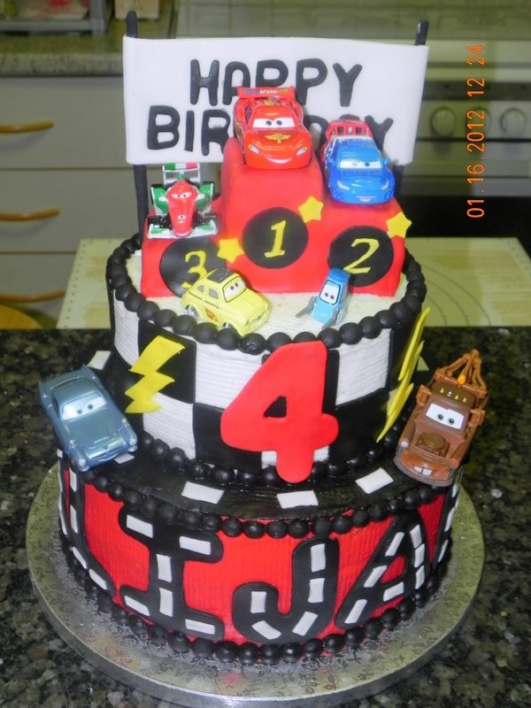 cars themed cake pictures