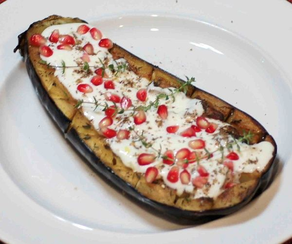 Roasted Eggplant with Buttermilk Sauce | Let's Eat! | Pinterest