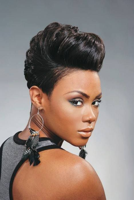 pin up hairstyles for black brief hair